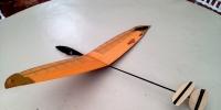 Nano Micro Hand Launch RC glider 2019 design prototype ll