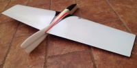 mini discus launch glider DLG RC