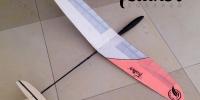 feather-squared-micro-rc-glider-ultralight-radio-control-glider-plane-balsa-wood-super-light-model-plane