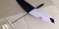 micro dlg glider mini discus launch rc glider raven elf dlg glider plans versus dlg glider dlg rc glider opteryx foam balsa carbon fiber rib airfoil flv fpv