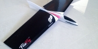 micro slope radio controll rc glider airplane hand launch rc