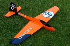 Aroso-ST-slope-glider-radio-control-rc-orange-dream-flight-ahi-clone