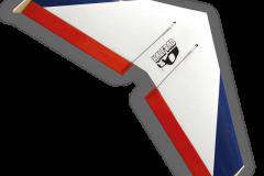 1_Halfbad-flying-wing-slope-soaring-glider-kit
