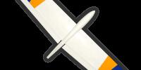 moth-slope-soaring-flying-wing-glider-radio-control-model-modelo-kit-wood-foam