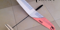 feather-squared-micro-rc-glider-ultralight-radio-control-glider-plane-balsa-wood-super-light-model-plane