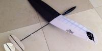 micro dlg glider mini discus launch rc glider