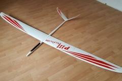 F3F-Modell-Predator-3-Carbon-fiber-f3b-f3f-dynamic-servo-fms-radio-control-airplane-glider-model-kit-composit-kevlar