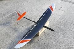 Prcek-mini-F3F-micro-rc-glider-slope-soaring-radio-control-servo-tail-composit-carbon-fiber-glass-kit