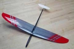PRCEK-mini-F3K-micro-carbon-fiber-rc-glider-kit-discus-launch-slope-rc