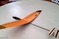 micro discus launch glider Feather Squared microbirds