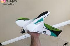 micro-fast-electric-radio-controlled-jet-funjet-ultra-2-mini-DIY-foam-carbon-fiber-balsa-flying-wing-jet-airplane