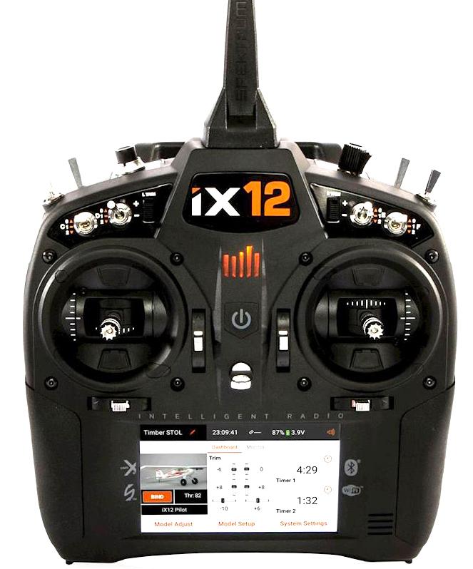 Spektrum RC iX12 2.4GHz DSMX 12-Channel transmitter