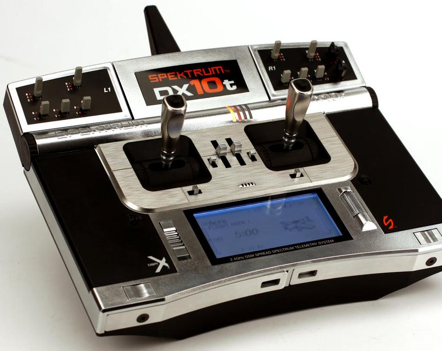 spektrum DX10t transmitter radio