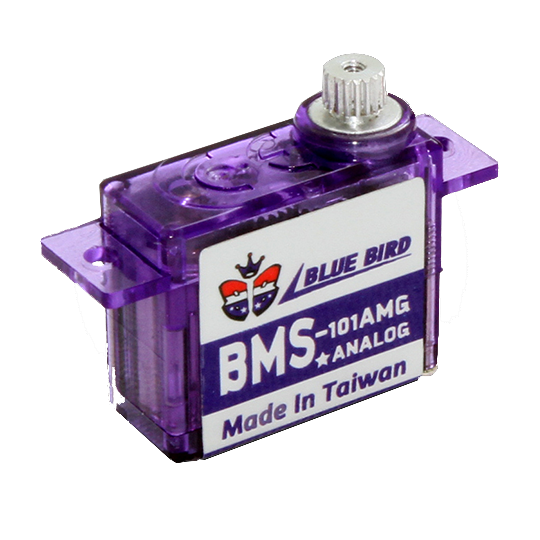 Blue Bird BMS-101AMG Micro Metal Gear Coreless Servos